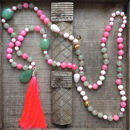 Pink Tassel 57cm