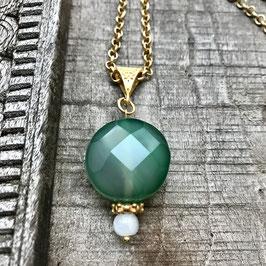 Emerald Kette 33cm