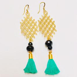 NEU: Emerald Earings