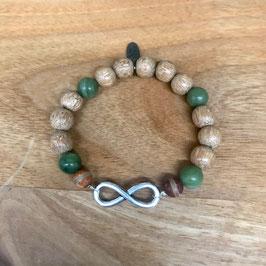 Infinity & Jade &Holz