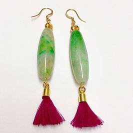 NEU: Agate Earrings