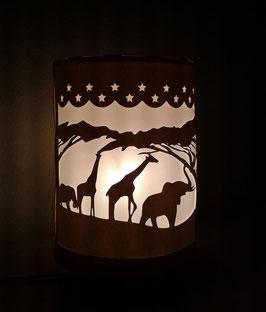Lámpara safari
