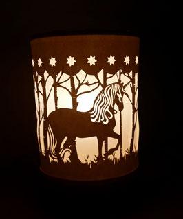 Lámpara unicornio