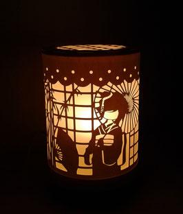 Lámpara japonesa