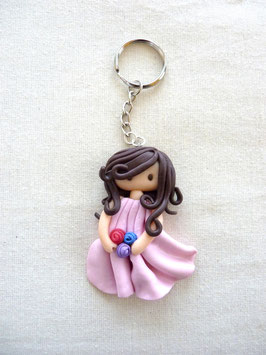 Zoé pink (key chain)