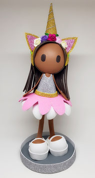 Zoé Unicornio (dorada)