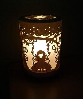 Lámpara columpio