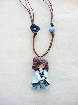 Zoé japonesa azul