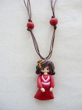 Zoé Japonaise Rouge