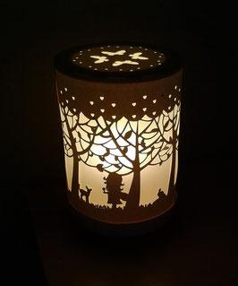 Lampe forêt