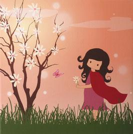 Zoé y el árbol florido