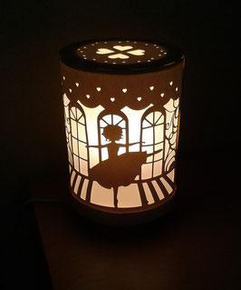 Lantern ballet dancer