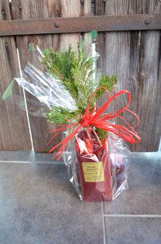 Weihnachtsgeschenk Tee & Fruchtsaft Sterne