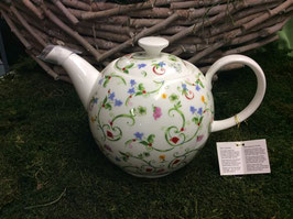 Designer Porzellan-Jumbo-Kanne Dekore Toskana