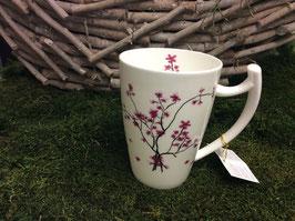 Designer Porzellan-Mega-Becher Dekore Kirschblüte