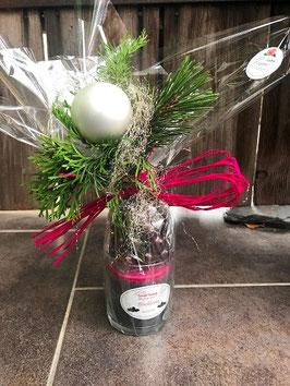 Weihnachts-Geschenk Amarena Kirschen & Duft-Kerze Blackberry