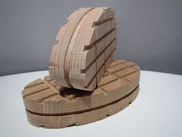 Standard 110mm Holzklotz gerade