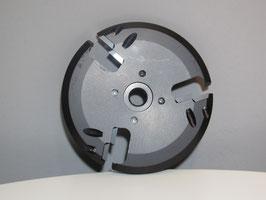 Messerscheibe 115mm 6 Klingen Aluminium