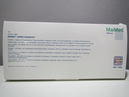 MaiMed®-stretch transparent 15cm x 10m Rolle