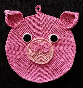 Schweinchen (Topflappen/Pfanntatze)