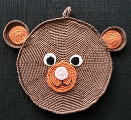 Bär (Topflappen/Pfanntatze)
