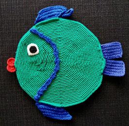 Grüner Fisch (Topflappen/Pfanntatze)