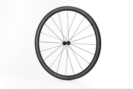 Pauger Wheels Vorne  Clincher&Tubeless Ready Rim