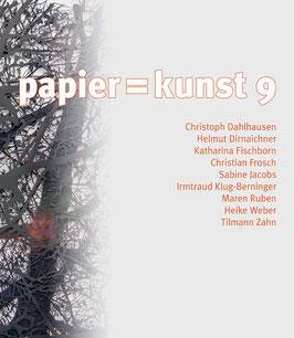Katalog: papier = kunst 9