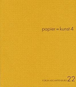 Katalog: papier = kunst 4