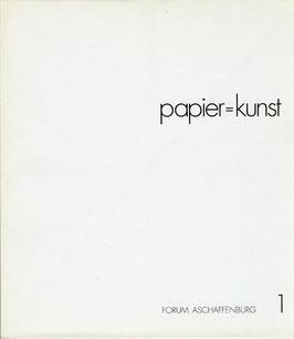 Katalog: papier = kunst 1