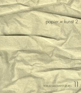 Katalog: papier = kunst 2