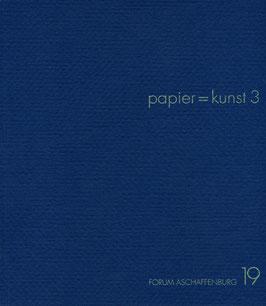 Katalog: papier = kunst 3