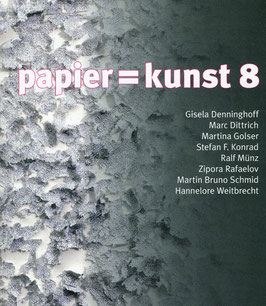 Katalog: papier = kunst 8