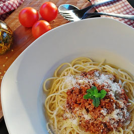 Pasta Gerichte mit Penne Nudeln (alternativ Spaghetti)