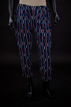 (Solo Talla 40) Pantalón Jackard Colores