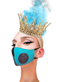 Fashion Mask Fichas Azul