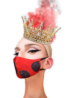 Fashion Mask Fichas Roja