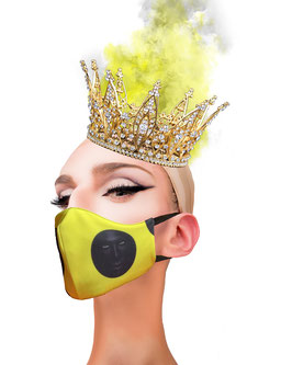 Fashion Mask Fichas Amarilla