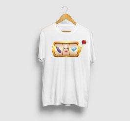 Camiseta Blanca Tragaperras
