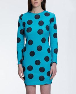 Vestido Fichas Azul