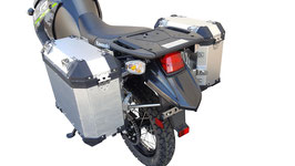 Nomad Rider KLR 650 08-19  Complete Pannier Luggage System