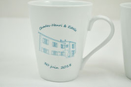 "2 Mugs ""Married Since"""