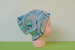 Beanie short Delphin/blau KU 46/48