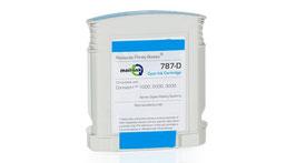 Tintentank Cyan für Pitney Bowes Connect+ Serie - Recyclingprodukt