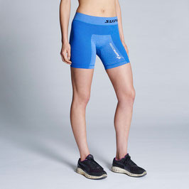 WOMEN'S PERFORMANCE TRAINING COMPRESSION SHORT (BLUE MARLE)