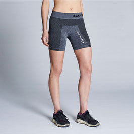 WOMEN'S PERFORMANCE TRAINING COMPRESSION SHORT (GREY MARLE)