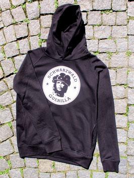 schwarzer unisex Hoodie mit Logo 3.0