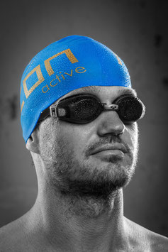 NEON active Swimming Cap - Blue