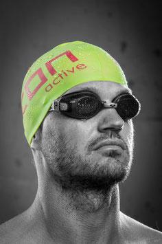 NEON active Swimming Cap - Green