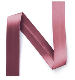 Satin Schrägband, Polyester, mehrere Farben, 20 mm, 3 Meter